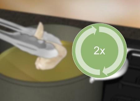 راهنمای استفاده مجدد از روغن،,دور ریختن روغن پخت و پز