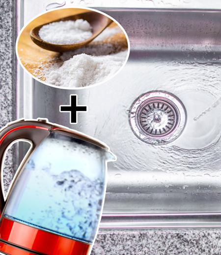روش های سریع باز کردن سینک آشپزخانه, باز کردن سینک آشپزخانه