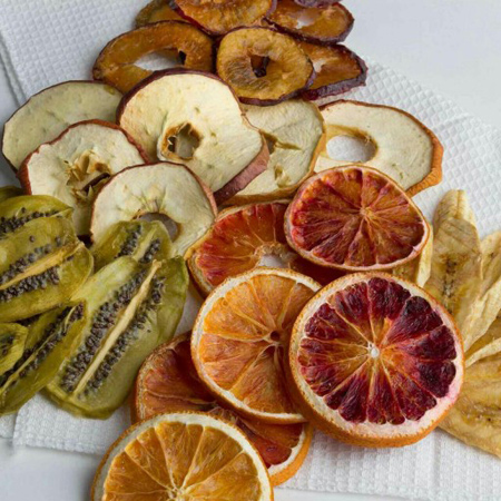 میوه خشک کردن,نگهداری میوه خشک در یخچال