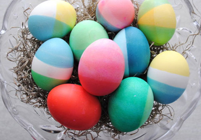 تخم مرغ هفت سین, روش رنگ آمیزی تخم مرغ هفت سین