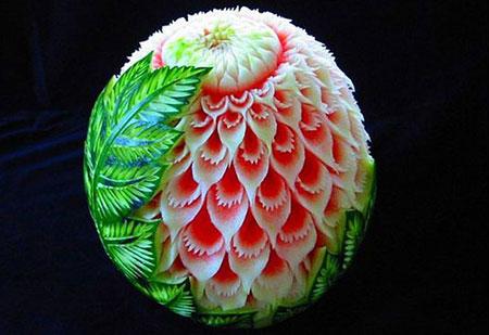 زیباترین تزیینات هندوانه,تزئین هندوانه