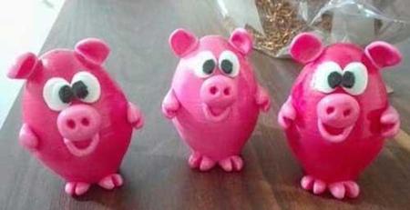مدل تزيين تخم مرغ هفت سين, تخم مرغ هفت سين سال خوک