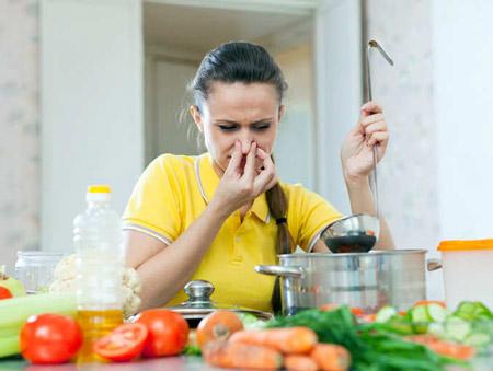 رفع بوی سوختگی غذا, رفع بوی سوختگی از انواع غذاها, برطرف کردن سوختگی غذا