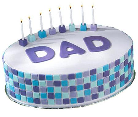 کيک ويژه روز پدر, کيک تبريک روز پدر