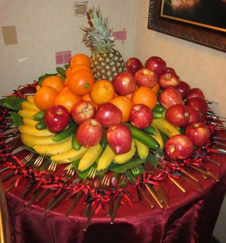 تزیین میوه روی میز95  برای تولد,تزیین هندوانه95,تزیین میوه روی میز95