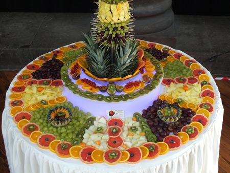 تزیین میوه95روی میز,تزیین میوه برای روی میز 95,تصاویر تزیین میوه روی میز 5