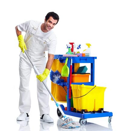 راهنمای خانه تکانی نوروزی,کمک گرفتن از نظافتچی
