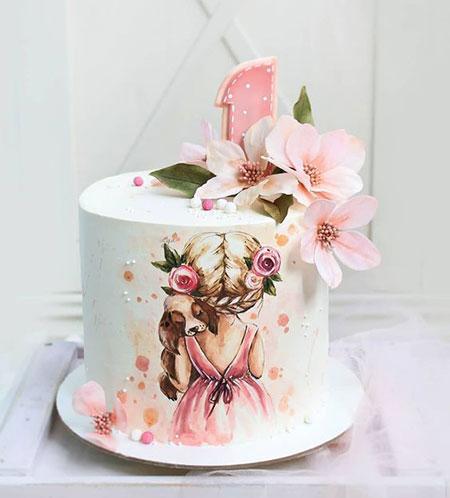 تزیینات شیک کیک روز دختر, کیک های ویژه ی روز دختر   مدل کیک های روز دختر  جدیدترین کیک های مناسب دختر  کیک های ویژه ی روز دختر  مدل کیک های روز دختر مدل های تزیین کیک روز دختر