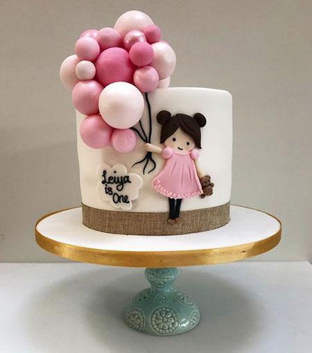 مدل کیک روز دختر, ایده هایی برای تزیین کیک روز دختر