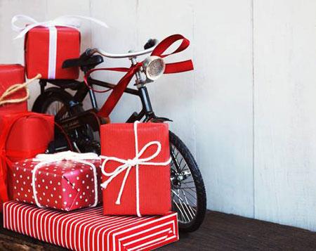 کادو کردن هدایای بزرگ, ایده برای تزیین هدایای بزرگ