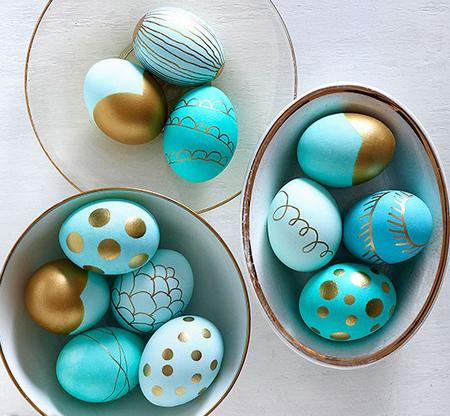 تزیین تخم مرغ, دکوپاژ تخم مرغ سفره هفت سین