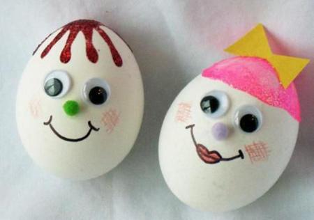 دکوپاژ تخم مرغ سفره هفت سین, تخم مرغ سفره هفت سین