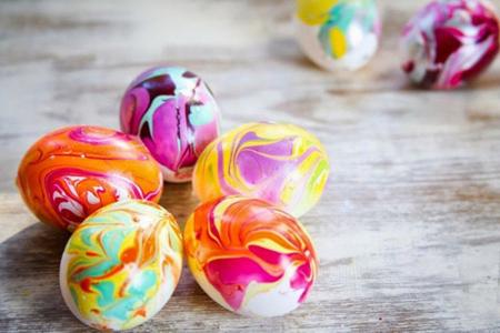 ایده هایی برای تزیین تخم مرغ هفت سین,مدل هایی برای تزیین سفره هفت سین