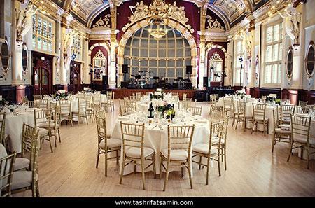 انتخاب سالن عروسی,مجالس عروسی,برگزاری مراسم عروسی