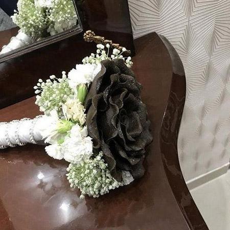 دسته گل حنابندان,انواع دسته گل حنابندان,دسته گل حنا مناسب برای مراسم حنابندان
