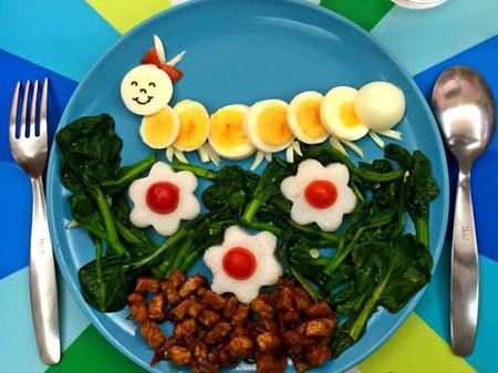 تزیین تخم مرغ آب پز,ایده هایی برای تزیین تخم مرغ آب پز