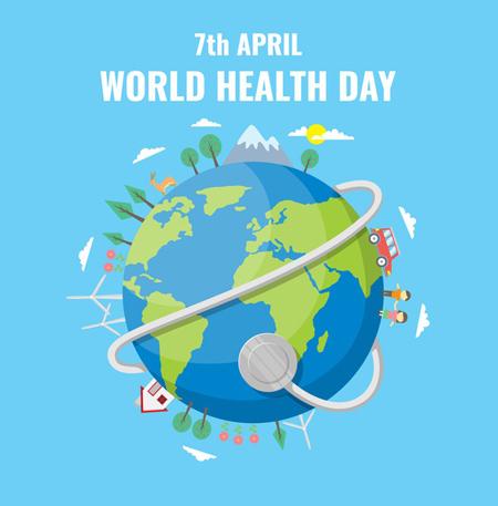 تصاویر روز جهانی بهداشت,کارت پستال روز بهداشت
