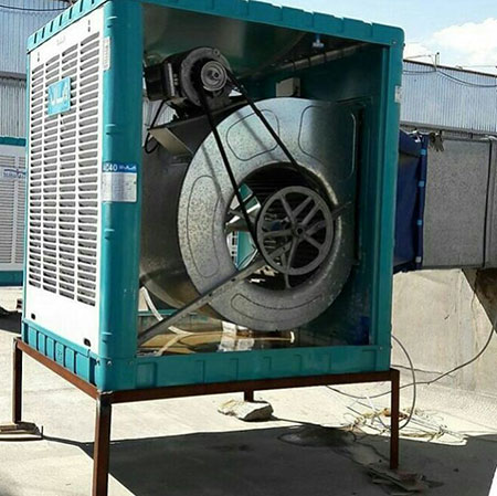 نحوه شست و شوی کولر،تعمیر موتور کولر