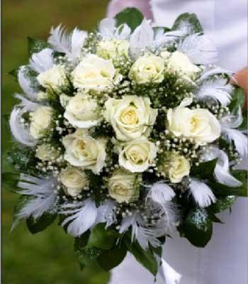 دسته گل عروس سال 95 و جدید و زیبا