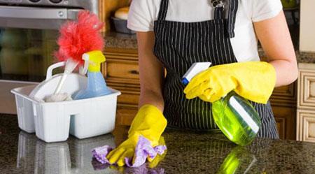 نکات ریز خانه داری, تمیزکردن خانه