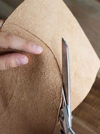 آموزش تصویری ساخت نقاب با چرم, درست کردن نقاب با چرم