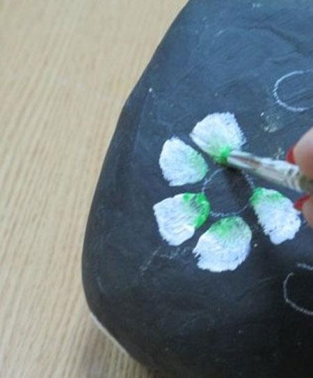 هنر نقاشی روی سنگ,تزیین سنگ با نقاشی