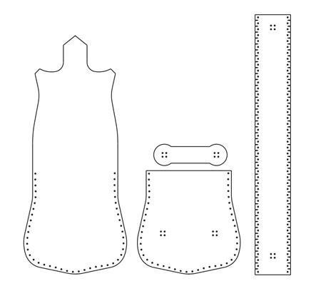 آموزش دوخت کیف چرمی,دوخت کیف چرمی