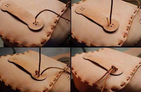 نحوه دوخت کیف چرمی,دوخت کیف چرمی با دست