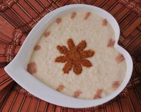آموزش سبزه لبو تزیین فرنی و شیربرنج سفره افطار