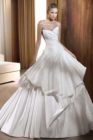 ویسگون لباس عروس
