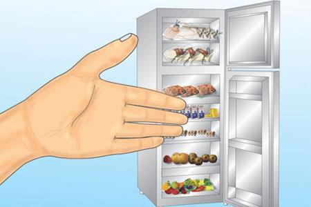 طرز مرتب کردن یخچال,نکاتی برای مرتب کردن یخچال