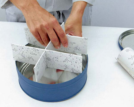ساخت جعبه برای خرده ریزها،طرز درست کردن جایی برای خرده ریزها