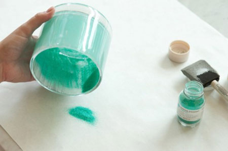 کارایی شیشه های دورریختنی, مراحل تزیین شیشه