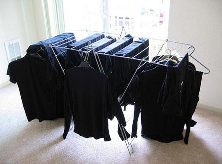 نحوه ثابت ماندن رنگ لباس مشکی, نکاتی برای شستن لباس مشکی