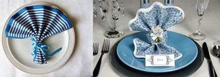زیباترین دستمال های سفره, تزیین دستمال سفره به شکل گل