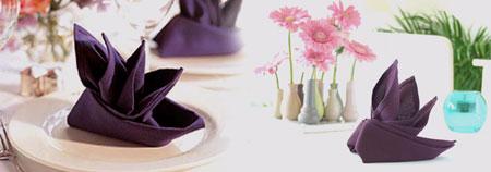 مدل تزیین دستمال سفره, زیباترین دستمال های سفره