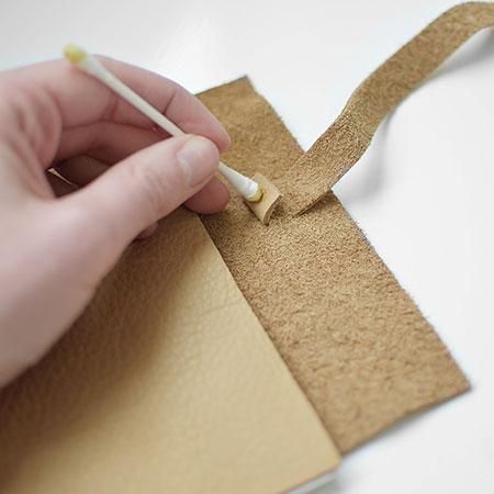 درست کردن جلد دفتر, مراحل درست کردن جلد دفتر