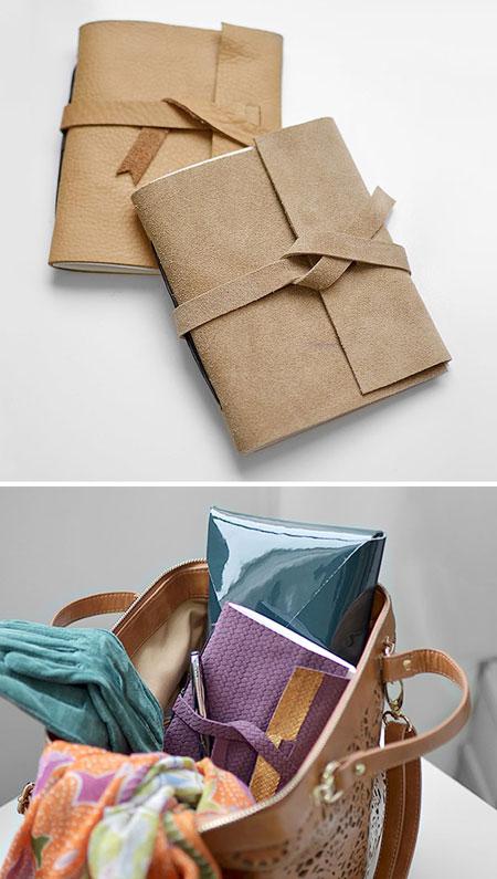 درست کردن جلد چرمی دفتر,نحوه درست کردن جلد چرمی
