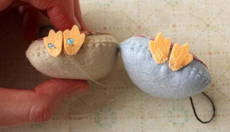 ساخت آویز خوشبو با طرح جغد,نحوه درست کردن آویز خوشبو با طرح جغد