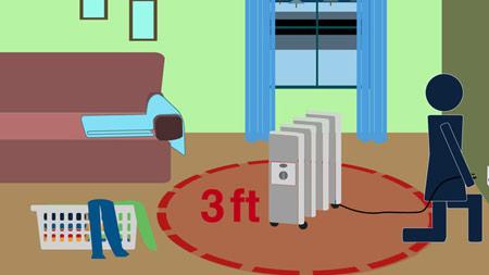 پیشگیری از آتش سوزی در خانه, نکاتی برای جلوگیری از آتش سوزی