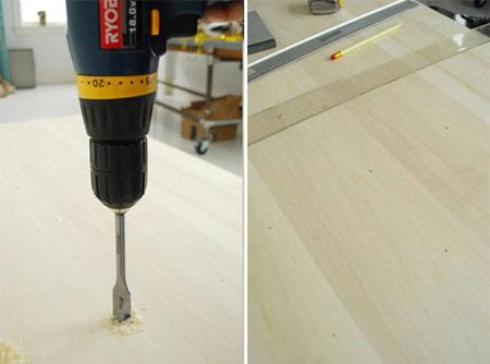 ساخت طاقچه چوبی, طاقچه های چوبی در آشپزخانه