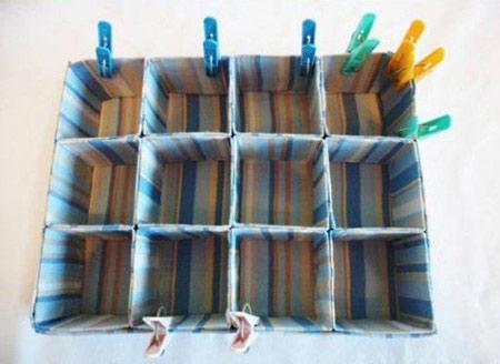 ساخت جعبه بازیافتی,ساخت جعبه با کارتن شیر