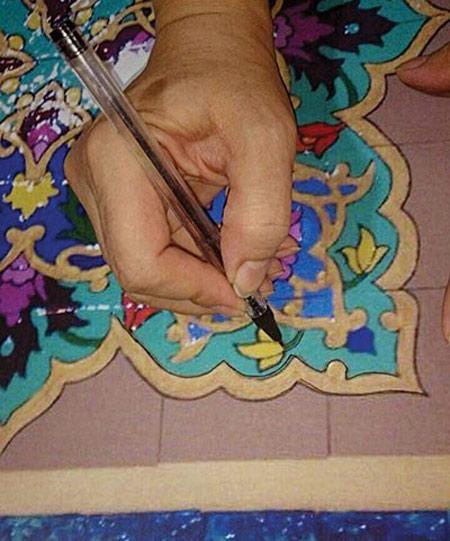 آشنایی با هنر معرق, کاشی های سنتی