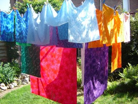 نکاتی برای خشک کردن لباس,روش های خشک کردن لباس