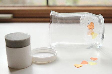 تزیین کردن جاشمعی با دستمال کاغذی, ایجاد طرح روی جاشمعی