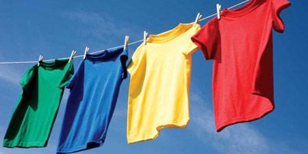 نحوه نگهداری لباس,اصول شستشوی لباس