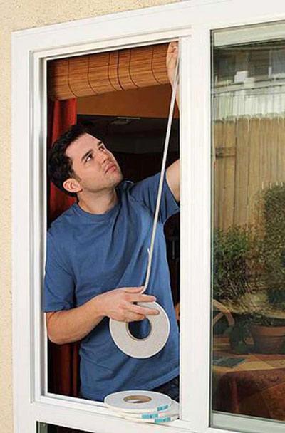 آماده کردن پنجره ها برای سرما,ایمن کردن پنجره ها در برابر سرما