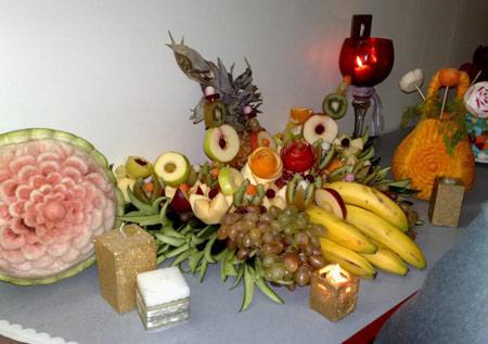 تزیین کدو شب یلدا, تزیینات هندوانه برای شب چله