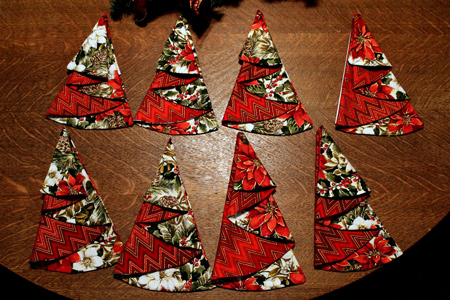 دستمال سفره به شکل کاج, دستمال سفره به شکل کاج برای کریسمس 2016