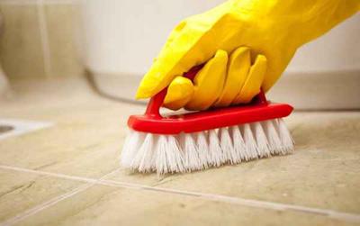نحوه تمیز کردن حمام, تمیز کردن سرویس بهداشتی